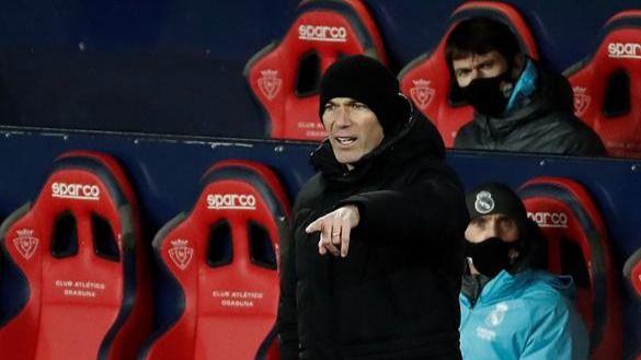 Zidane explota contra LaLiga por forzar al Madrid a viajar y jugar en pleno temporal