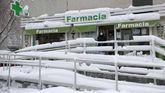 Las farmacias madrileñas permanecen abiertas pese al temporal