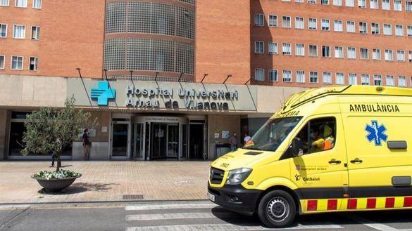 Hospital Arnau de Vilanova de Lérida.