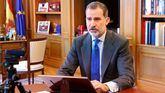 El rey Felipe inaugura de forma telemática, la XI edición del foro Spain Investors Day.