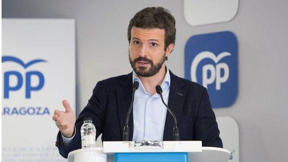 Casado reclama al Gobierno que haga con la luz lo que pedía al PP desde la oposición