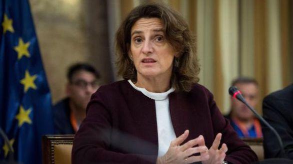 La ministra de Transición Ecológica.