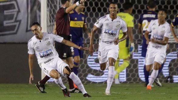 Copa Libertadores. Un Santos eléctrico empuja a Boca Juniors a la catástrofe | 3-0