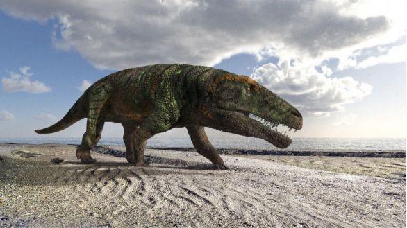 Halladas en Italia las huellas fósiles de un reptil gigante parecido al cocodrilo