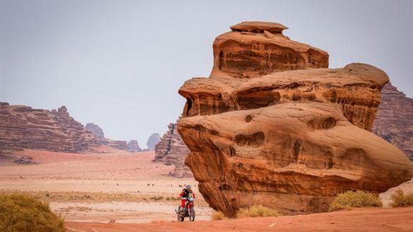 Rally Dakar. Barreda luce garra: es hospitalizado por seguir batallando por el podio