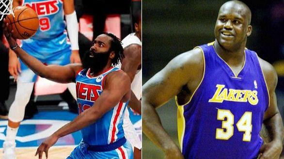 NBA. Harden luce en su estreno con los Nets pero Shaquille O'Neal le atiza sin pudor