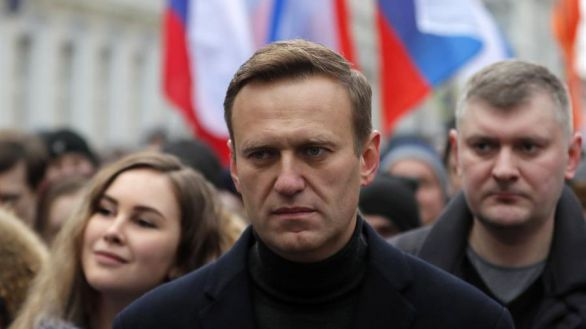 Navalni, detenido en su regreso a Moscú cinco meses después de ser envenenado