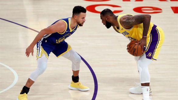 NBA. Los resucitados Warriors frenan a los Lakers y Doncic se seca