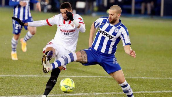 El Sevilla se reivindica en Mendizorroza   1-2