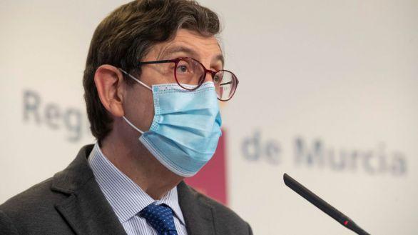 El consejero de Sanidad de la Región de Murcia, Manuel Villegas.