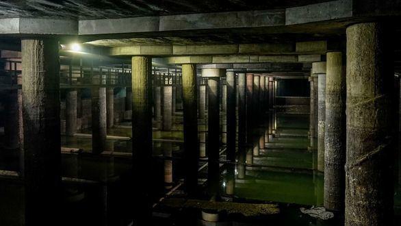 Los tanques de tormentas: el 'arma' de Madrid contra las inundaciones