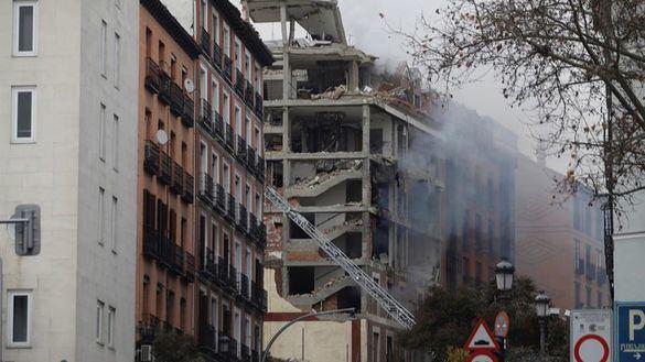 Cuatro muertos en una explosión de gas en un edificio parroquial del centro de Madrid