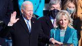 Joe Biden jura el cargo de presidente de EEUU.