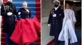 Los looks de Jennifer Lopez y Lady Gaga en la toma de posesión de Biden