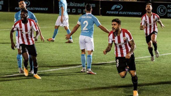 Copa del Rey. El Athletic sobrevive al Ibiza con un tanto en el descuento |1-2