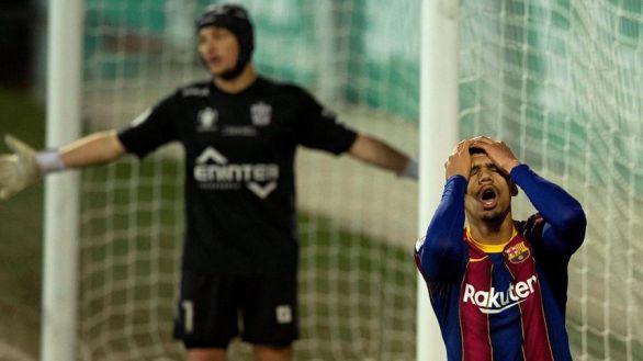 Copa del Rey. La prórroga permite al Barcelona superar al Cornellá de Ramón Juan |0-2
