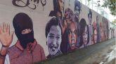 Vox propone repintar un mural feminista para homenajear a los deportistas paralímpicos