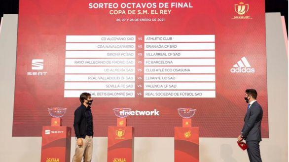 Octavos de Copa: Alcoyano-Athletic y Rayo, Barcelona, entre los duelos