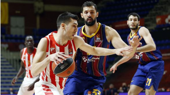 Euroliga. La defensa viste de líder al Barcelona |60-72