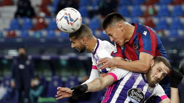 Levante y Valladolid firman tablas en un partido con alternativas |2-2
