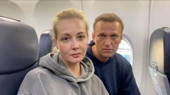 Detenida Yulia Navalnaya, esposa del opositor Navalni