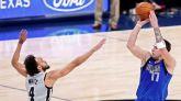 NBA. Doncic vuelve a escribir una página nunca vista en la historia de la liga