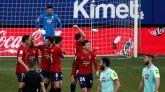 Osasuna consigue la victoria después de tres meses de sequía   3-1