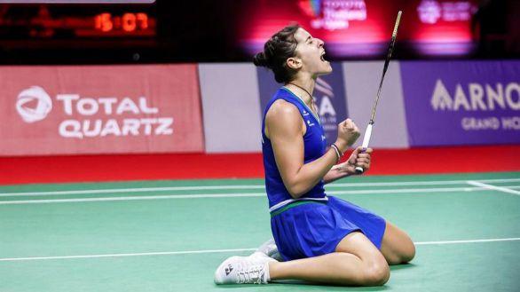 Open de Tailandia. Carolina Marín vuelve a ganar un título tras derrotar a la número 1