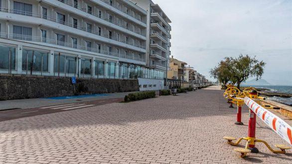 Las pernoctaciones hoteleras se desplomaron el 73,3 % en 2020