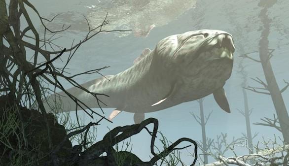 Este gigantesco pez carnívoro reinaba en la Tierra hace 400 millones de años