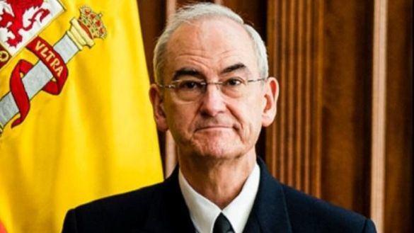 El almirante general Teodoro López Calderón, nuevo jefe del Estado Mayor de la Defensa (JEMAD).