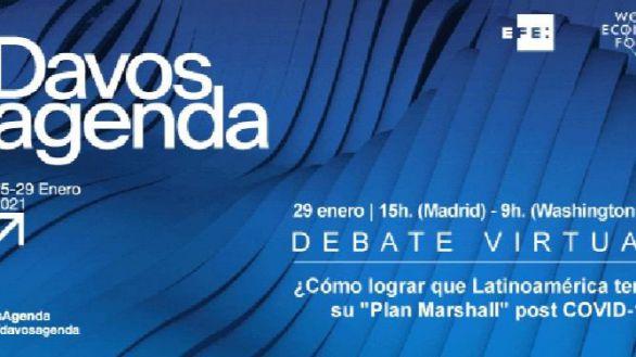 La Agencia EFE lleva a Davos el debate sobre la recuperación postcovid de Latinoamérica