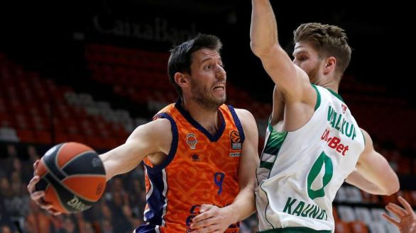 Euroliga. El Valencia Basket no llega a la orilla contra el Zalgiris   78-79