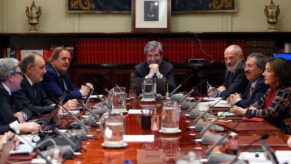 El Congreso continúa con la reforma del CGPJ tras rechazar las enmiendas de PP, Cs y Vox