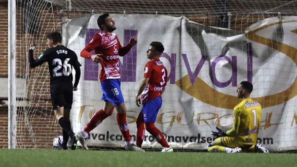 Copa del Rey. El Granada no deja espacio para la sorpresa del Navalcarnero |0-6