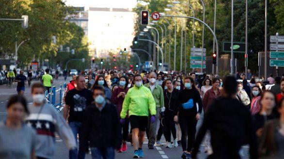 Madrid peatonaliza 6,4 kilómetros de calles durante el fin de semana