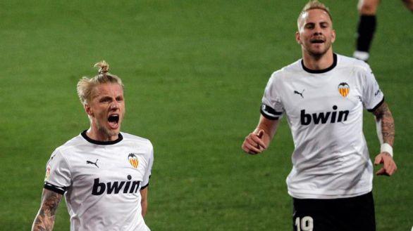 El Valencia toma aire ante un Elche que se asfixia  1-0