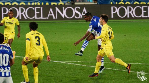 Isak rescata en el descuento en El Madrigal un punto para la Real |1-1