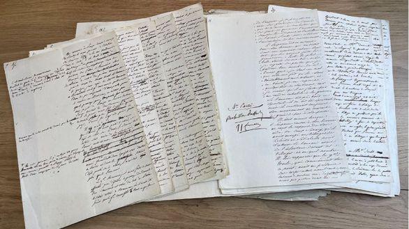 A subasta un manuscrito de Napoleón sobre la batalla de Austerlitz