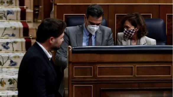 PSOE y Podemos votan a favor de negociar la amnistía y la autodeterminación
