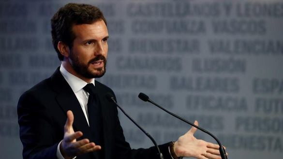 Casado acusa a Sánchez de filtrar la declaración de Bárcenas a la Fiscalía con fines electoralistas