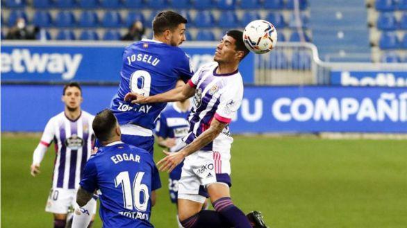 Joselu da oxígeno al Alavés y mete en problemas al Valladolid | 1-0