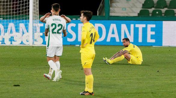 El Villarreal vuelve a desaprovechar una ventaja holgada  2-2