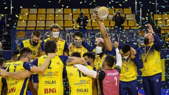 El histórico Guaguas certifica con la Copa del Rey su regreso a la élite