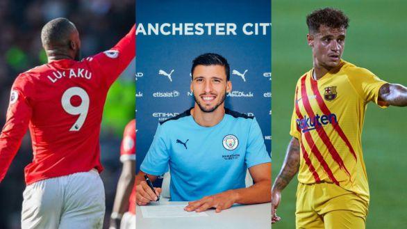 Manchester City, United y FC Barcelona, un agujero negro para el gasto en fichajes