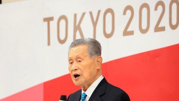 El presidente del comité organizador de los Juegos Olímpicos Tokio 2020, el japonés Yoshiro Mori.