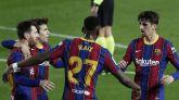 Messi y Trincao sostienen el paseo del Barça contra el Alavés   5-1
