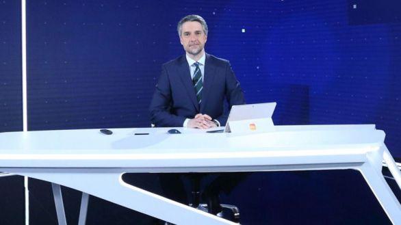 Los informativos de TVE renuevan plató, pero siguen siendo la tercera opción