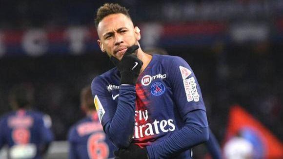 Neymar, eufórico en Twitter por la goleada del PSG al Barcelona