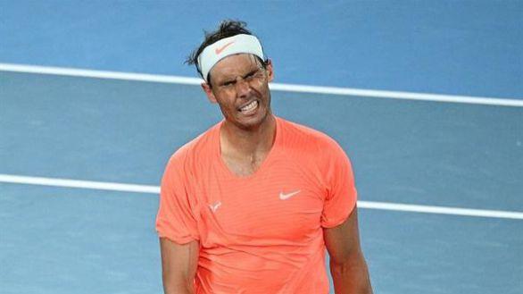 Abierto de Australia. Nadal se va con un incómodo tirón y un recado para Djokovic